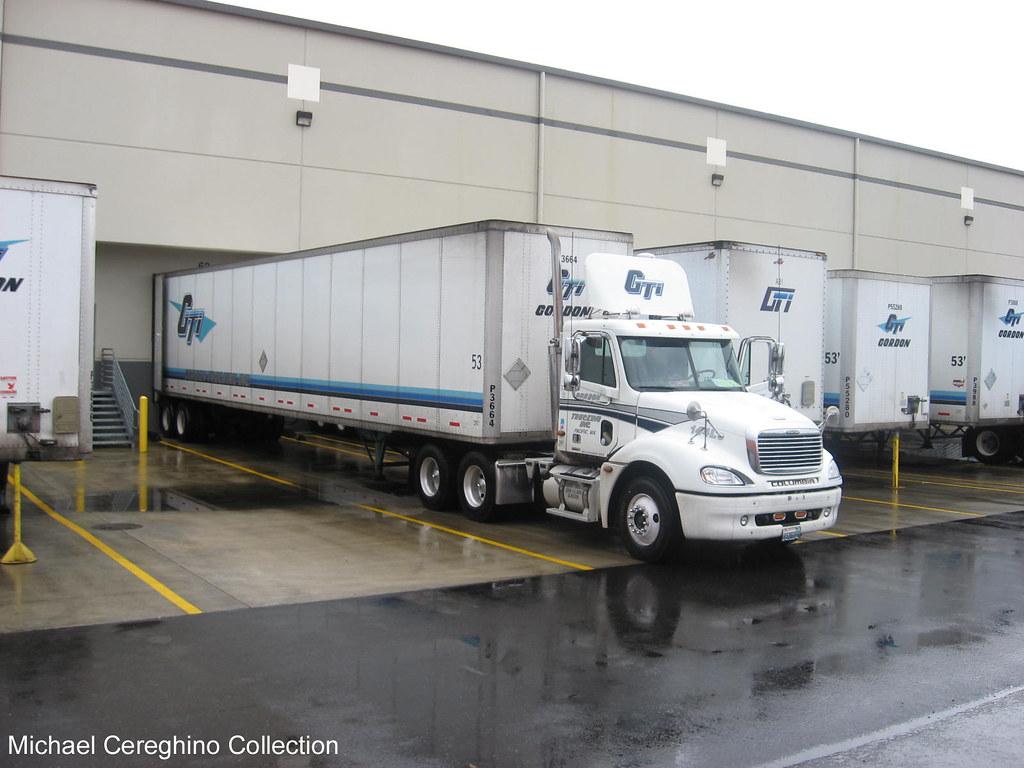 gordon trucking inc freightliner columbia daycab truck 1 flickr. Black Bedroom Furniture Sets. Home Design Ideas