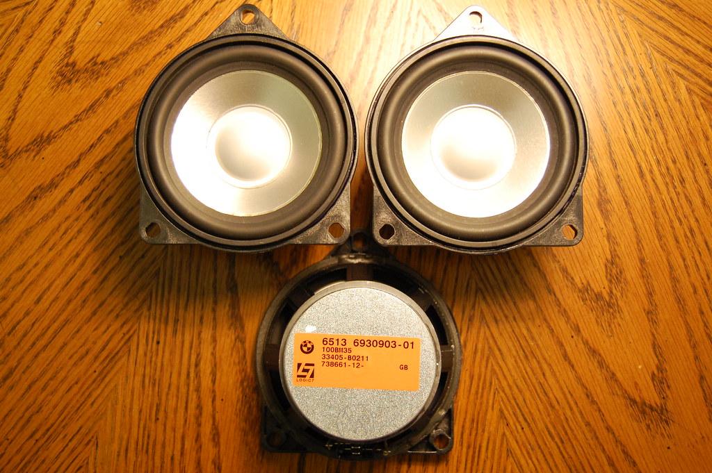 Bmw Logic7 Mid Range Speakers Part 65136930903 Logic7 Top Flickr