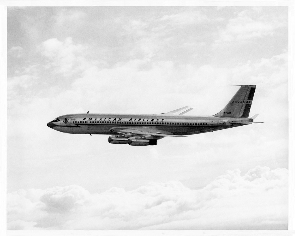 American Airlines Boeing 707 Quot Stratoliner Quot Un Edited