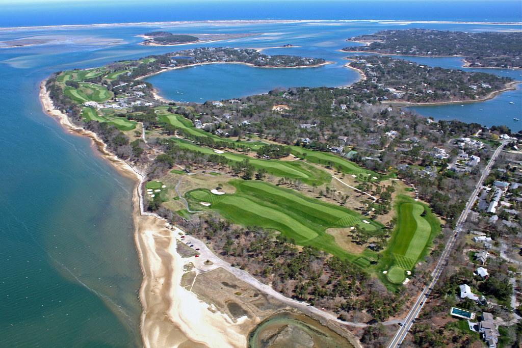 Eastward Ho Golf Course Aerial Chatham Massachusetts