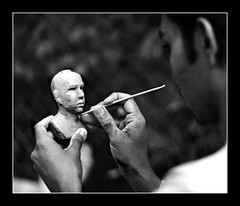 Sculptor in Action | by Abhisek Sarda