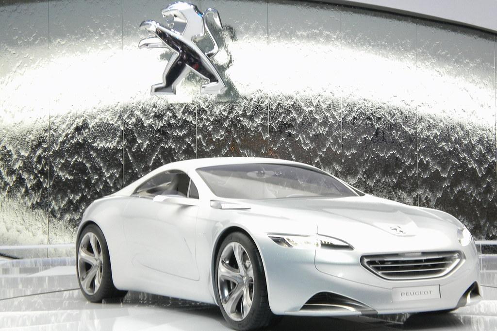 Concept Car Peugeotsalon De Lauto Geneve 2010 Anatoliv73 Flickr