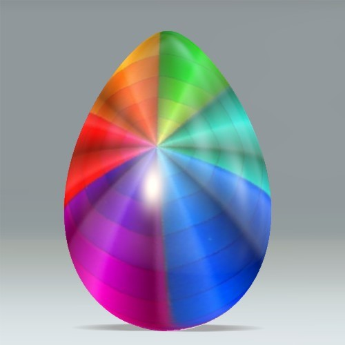 Rainbow Egg Created With Www Dumpr Net Happy Easter