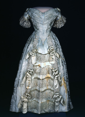 Sarah Polk's Silk Dress, 1840s | by national museum of american history