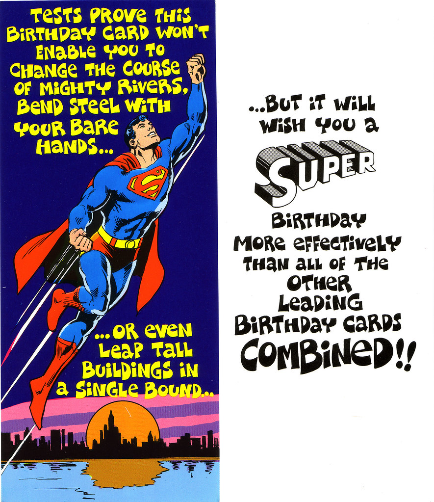 1978 Superman Friends Greeting Cards Mark Anderson Flickr