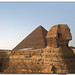 Pyramid of Queops & Sphinx of Gize I