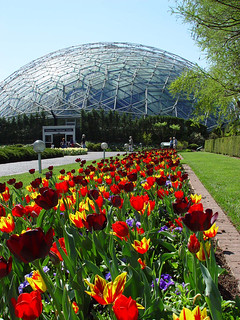 Climatron in spring | by Missouri Botanical Garden
