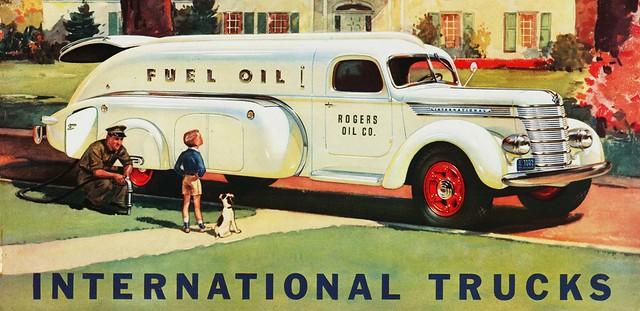 1940 International Tanker Truck Flickr Photo Sharing