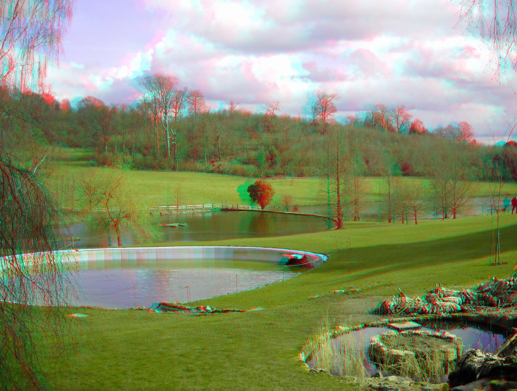 Sir Winston Churchills Outdoor Pool At Chartwell In 3d Flickr