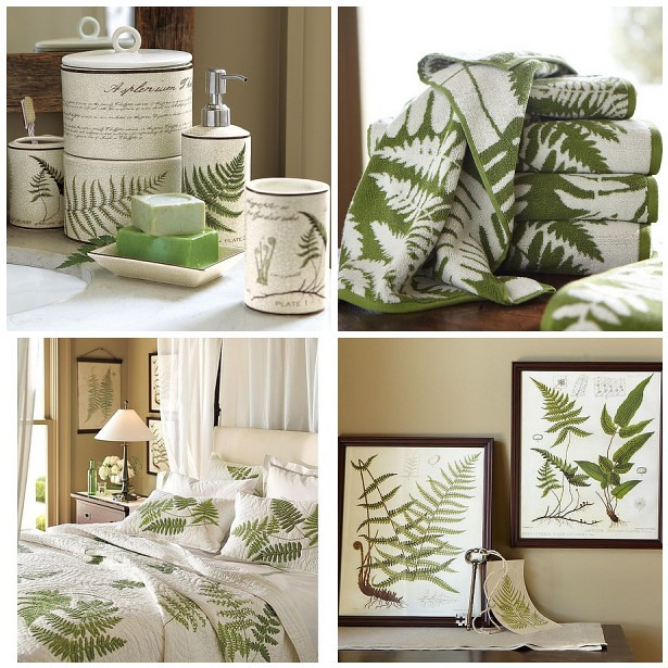 Fern Collection Pottery Barn Towels Toiletries