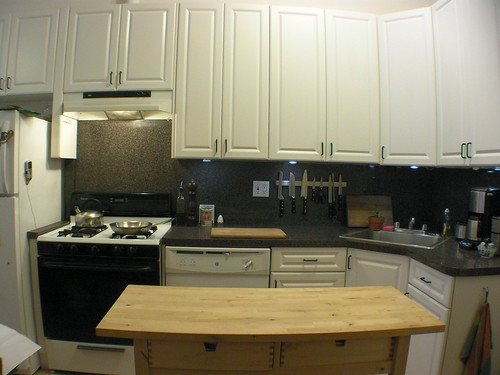 Kitchen Cabinet Lighting Installation With Switch
