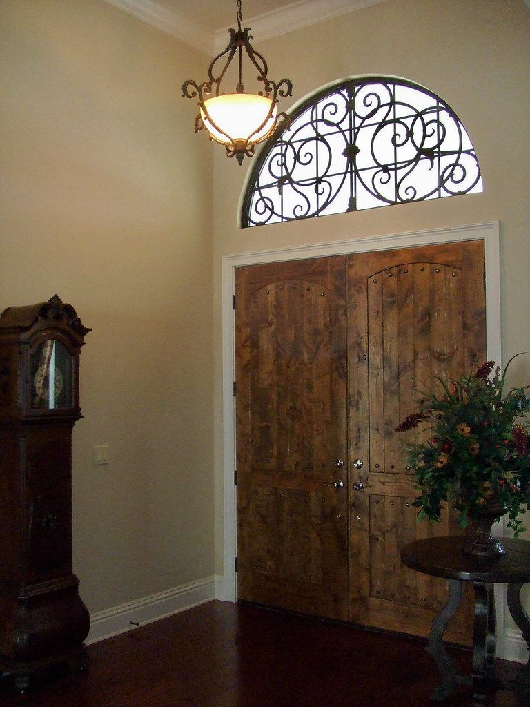 how to make a faux transom window