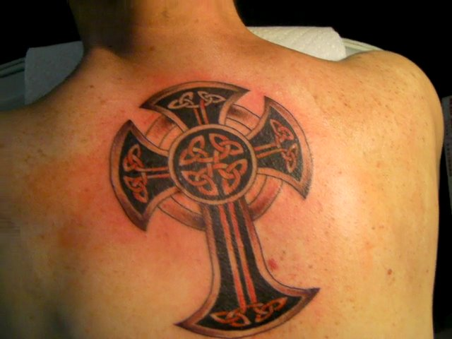 celtic cross at aces and eights tattoos aces and eights