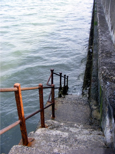 Stairs down... Ramsey Queen's Prom.