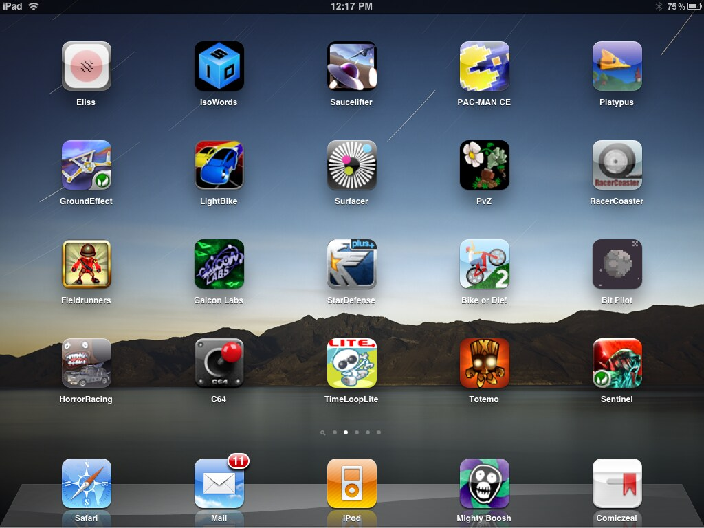 best iphone game apps