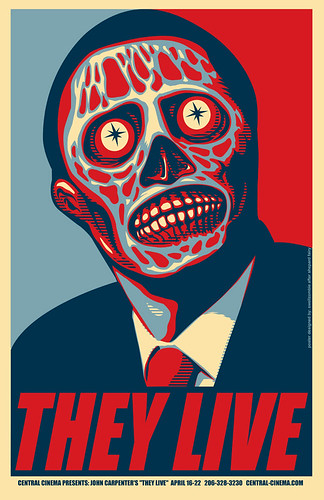 They Live poster Marc Palm | by Marc Palm AKA Swellzombie
