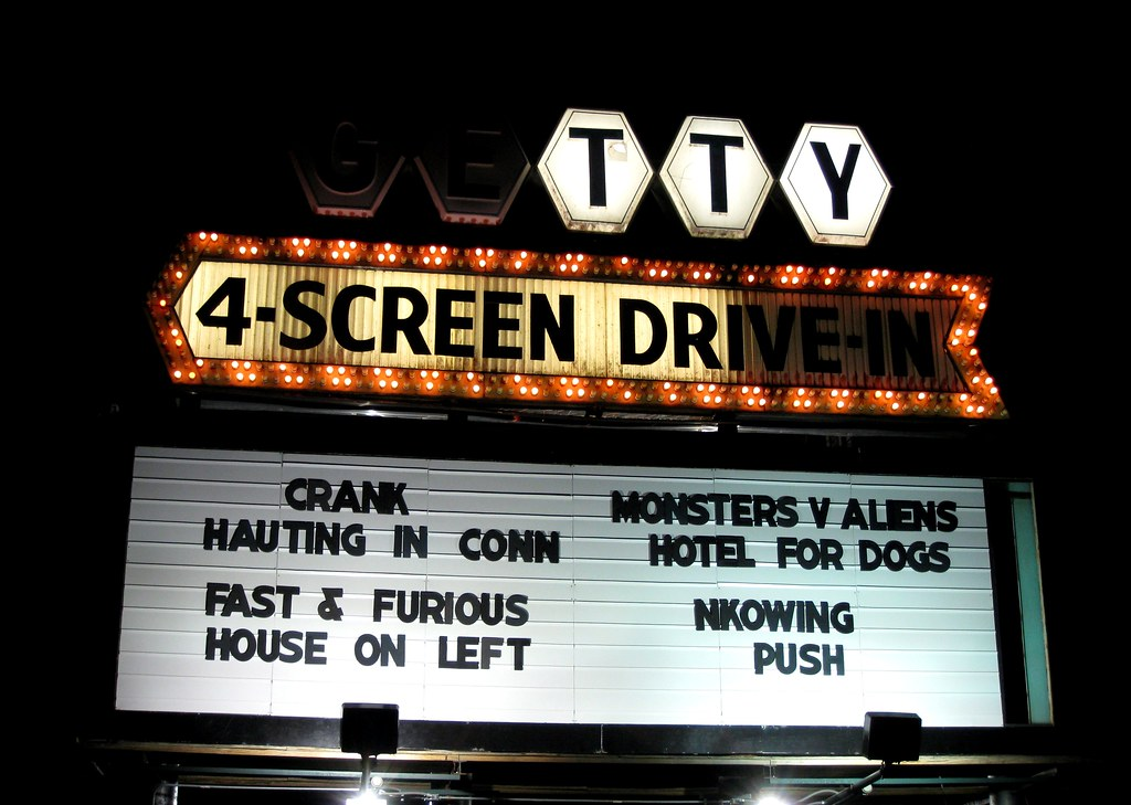 drive in theater marquee muskegon is lucky to have the
