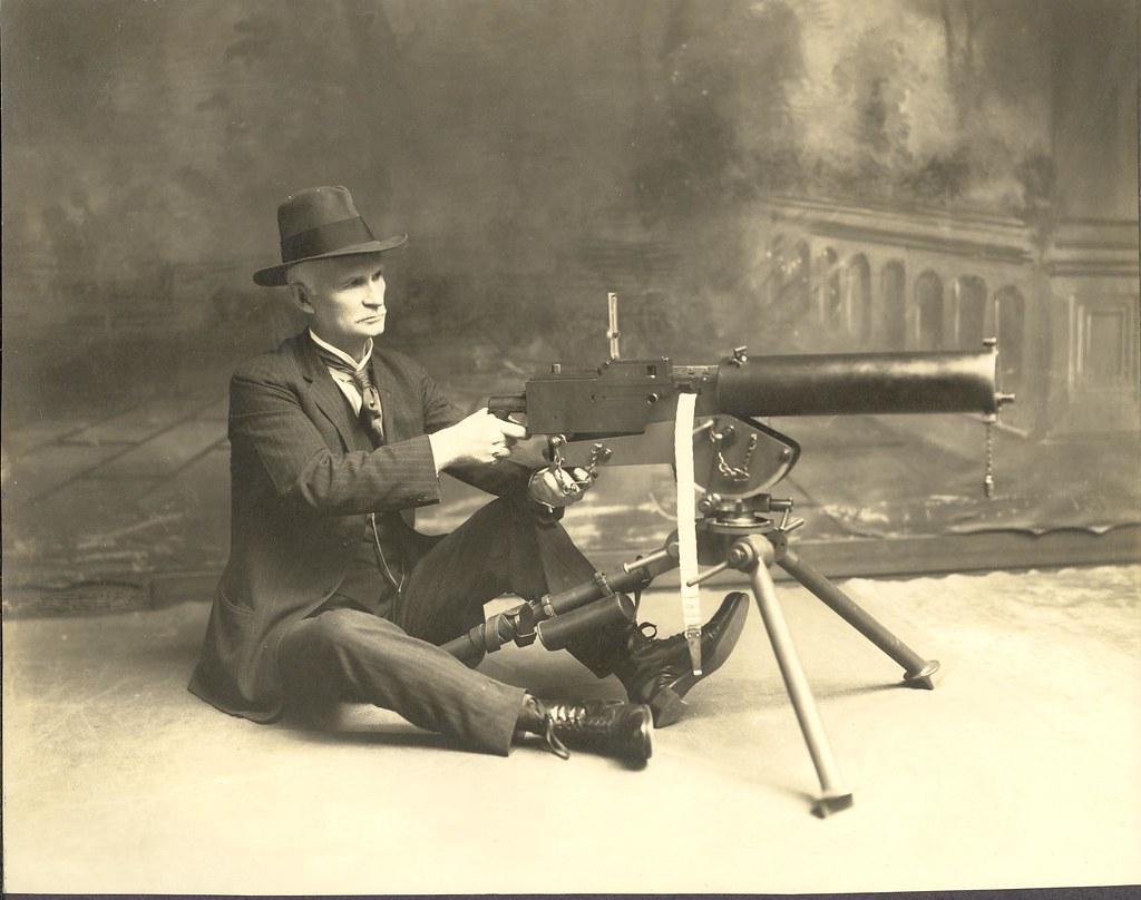 M1917 Browning Heavy Machine Gun John Moses Browning Gun