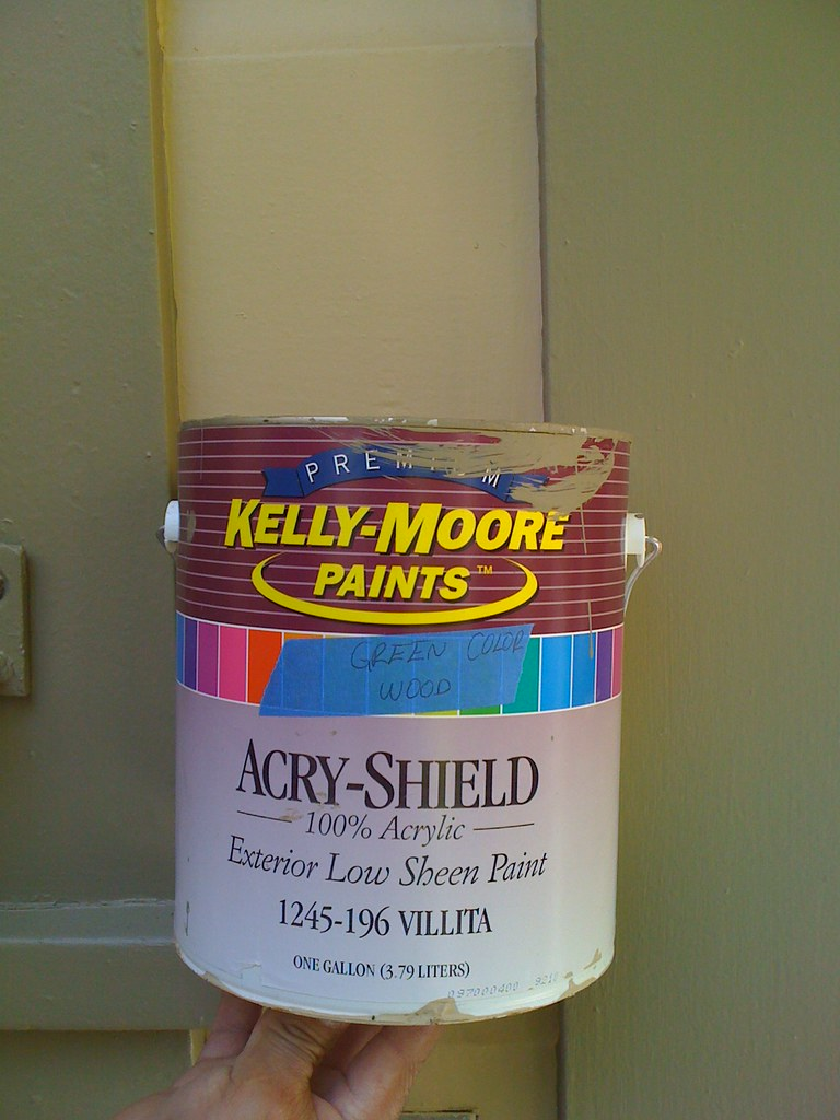 Garage door trim kelly moore paints exterior low sheen pai flickr for Kelly moore exterior paint reviews