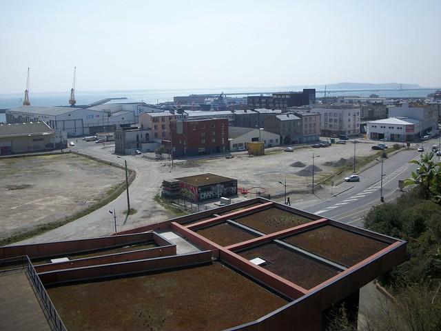 Vue sur le port de commerce et la rade brest flickr photo sharing - Restaurant port de commerce brest ...