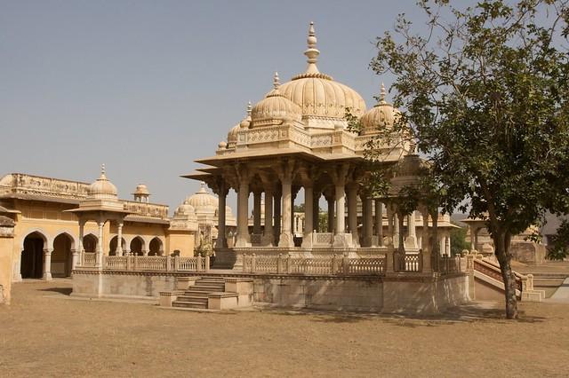 View of the maharani ki chhatri jaipur during my trip