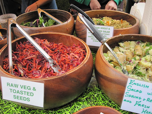 Salad | by veganbackpacker