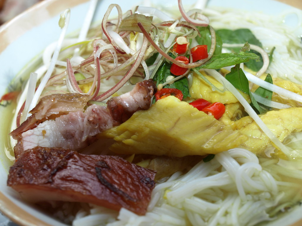 Bun ca chau doc fish rice noodle in chau doc bun ca for Rice noodle fish
