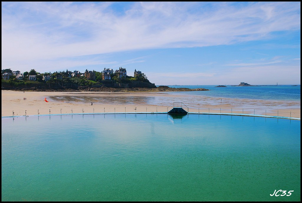 Dinard piscine naturelle jeanclaude35 flickr for Piscine dinard