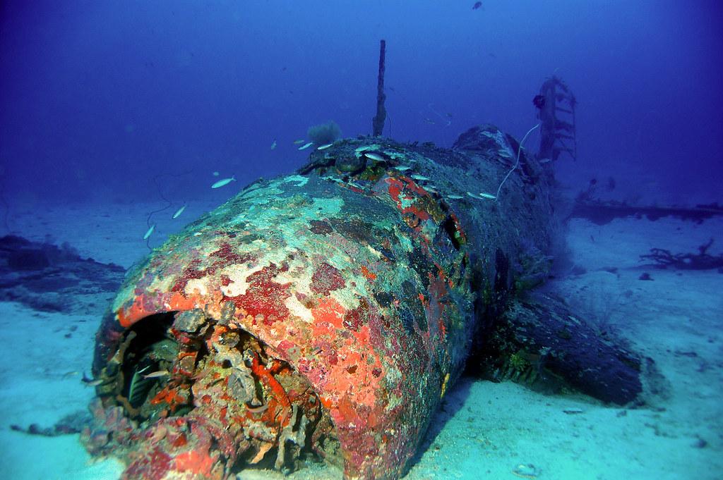 Munda Deep Corsair Solomon Islands This Ww11 Corsair Pla Flickr