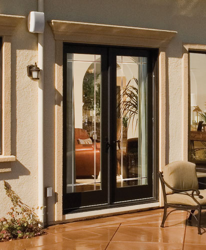 Feather River Door Fiberglass Patio Doors Painted Double