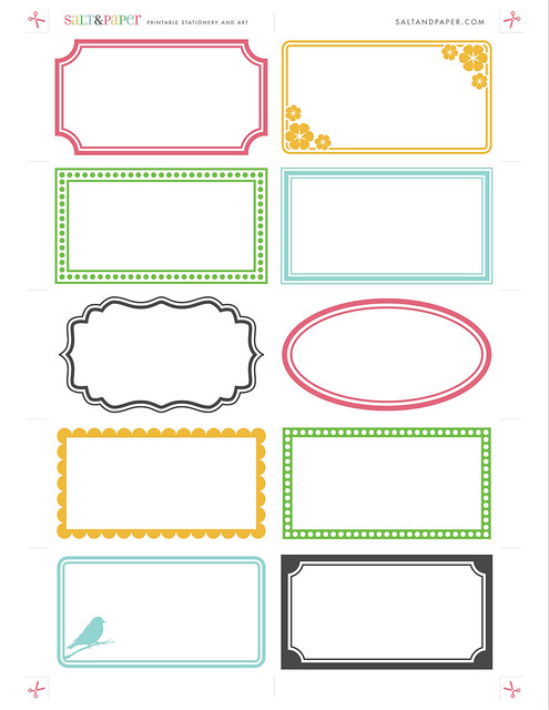 Printable Tags Printable labels from