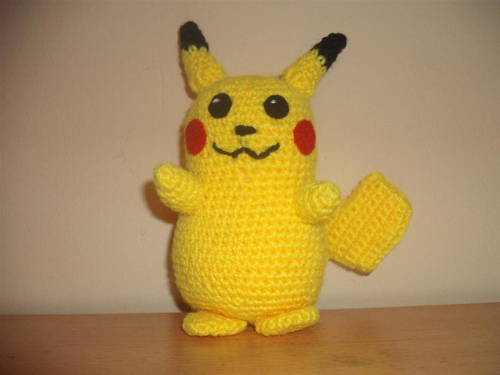pikachu crochet 1 | crochet pikachu 1 pattern here wolfdream… | Flickr