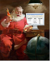 Santa's Spreadsheet, after Haddon Sundblom | by Mike Licht, NotionsCapital.com