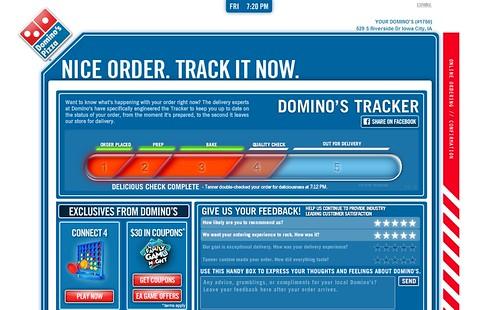 Order resume online dominoes