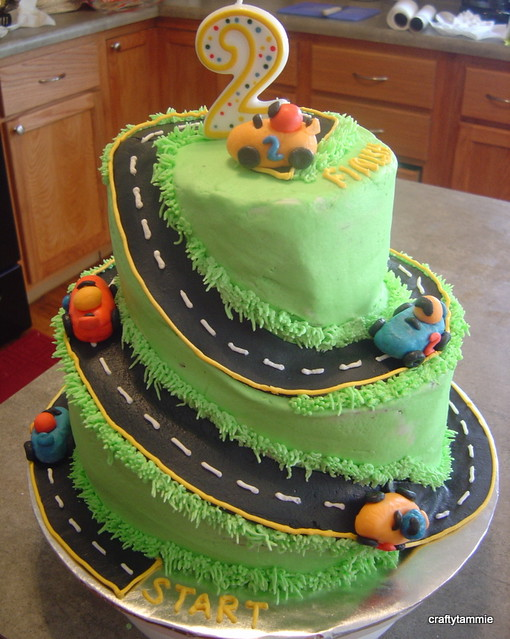 Race Car Cake Designs