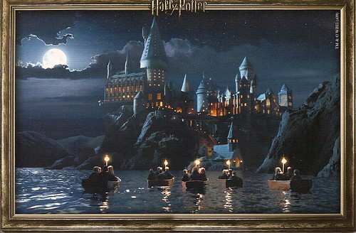 Harry Potter Postcard Series Boats Send To Haomin 0