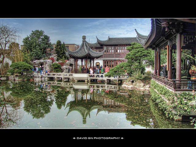 Lan Su Chinese Garden Portland Oregon Hdr Please Click H Flickr