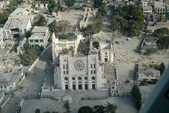 Haiti Earthquake - destruction as seen from the plane | by IFRC