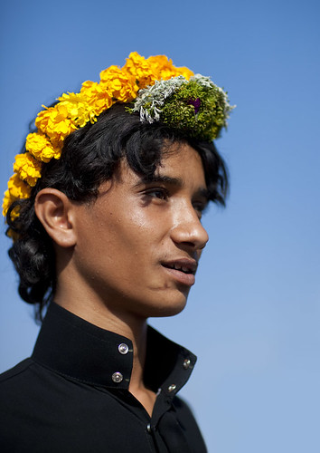 Yaya, Flower Man - Saudi Arabia | by Eric Lafforgue