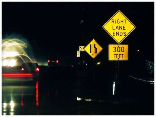 Right Lane Ends | by Cliffski