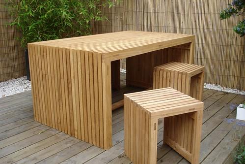Oak strip garden furniture 1 oak garden furniture for Oak garden furniture