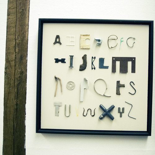 Found Alphabet | by olivelife
