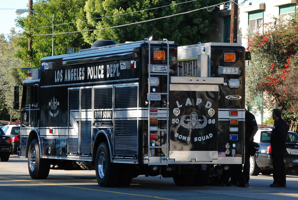 Los Angeles Police Department Lapd Bomb Squad Truck Flickr