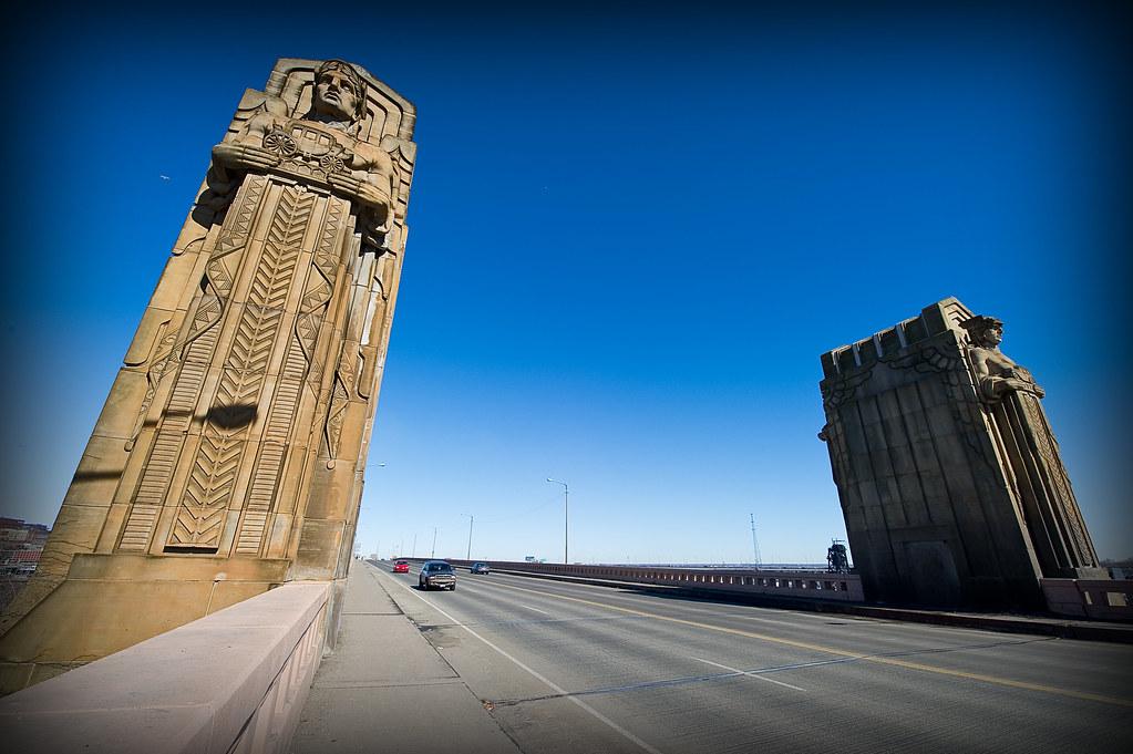 Guardians The Lorain Carnegie Bridge Cleveland