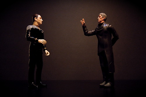 Data vs. Spock (70/365) | by JD Hancock