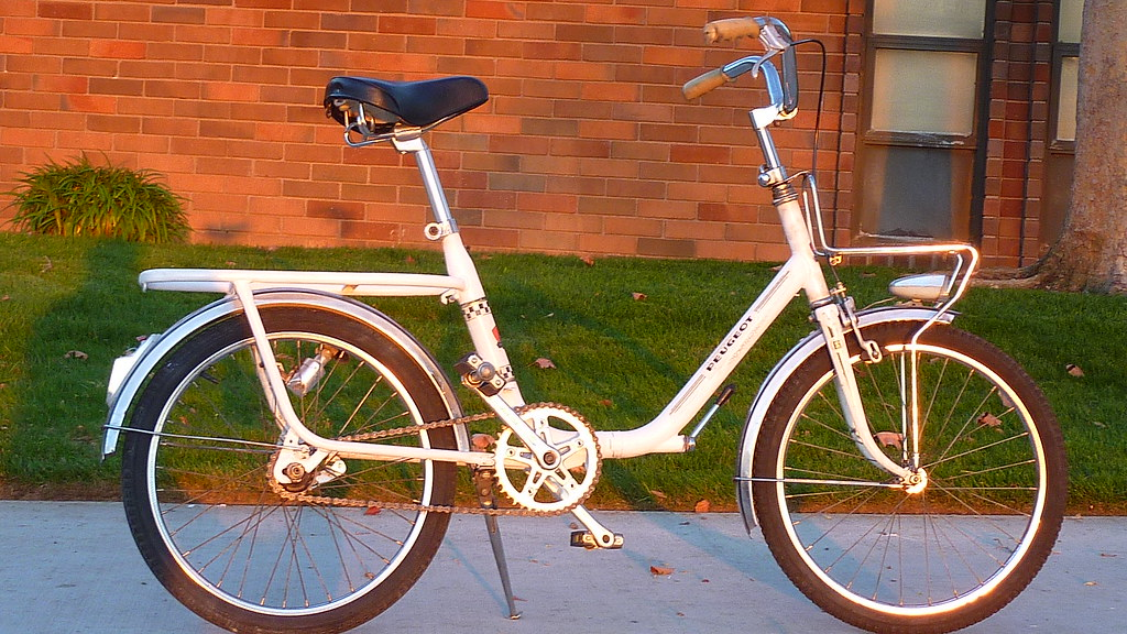 Peugeot Folding Bike Da40e Does Not Fold But Frame