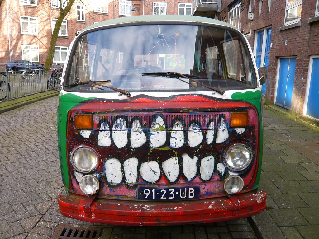 Volkswagen Bus 231011 1977 Painted By Lastplak Flickr