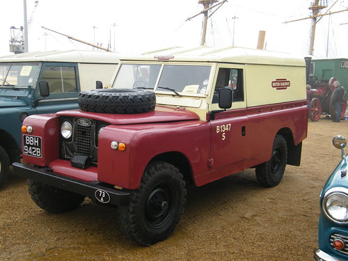 Land Rover Austin >> 1964 Land Rover series II LWB - ex British Railways | by Austin7nut