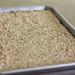pan of oats
