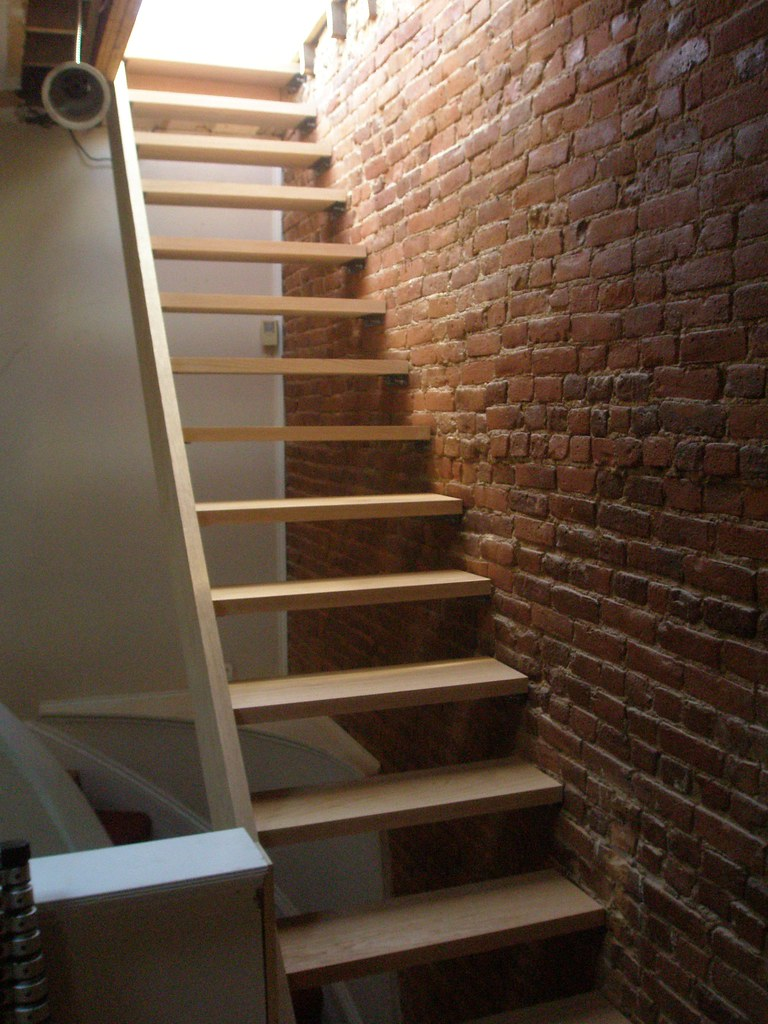 ... Theultimatefinish Floating Stairs To The Roof Deck | By  Theultimatefinish